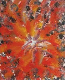 Safety Orange, 2012, oil/canvas, 14x11 inches