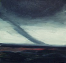 Strange Weather (35) 2006, oil/canvas, 18x19 inches: Storm's Coming Six authors get personal about climate change BY GRETEL EHRLICH, JARED DUVAL, JAY GRIFFITHS, PETER SAWTELL, PICO IYER, AND CARL SAFINA Published in the September/October 2008 issue of Orion magazine