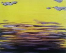 Purple Rain, 2015, oil on canvas, 12x16 inches