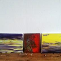 The red mist and the purple sea... Studio - April 2015