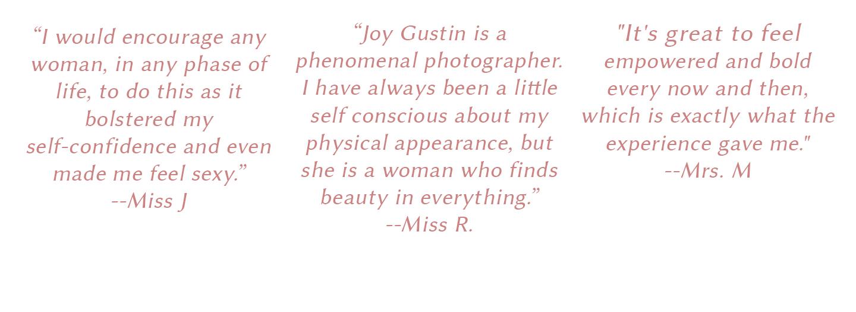 JoyGustinPhotography_Testimonials