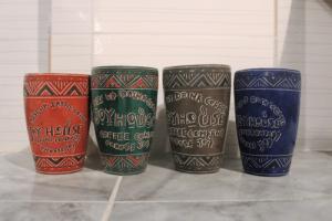 4 JoyHouse mugs