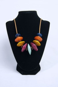 Premium Color Paper Bead Necklace