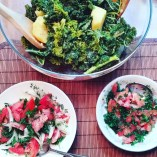 Kale Potato Salad & Tomato Sides
