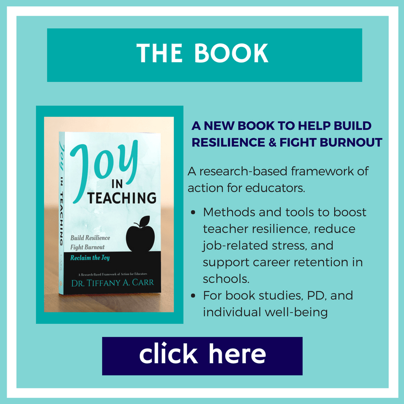 Find out more about the new book by joy in teaching