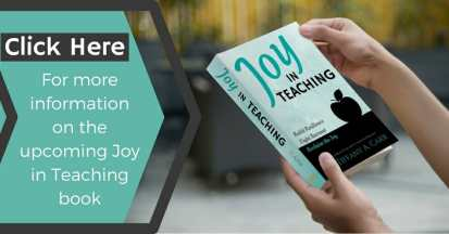 Learn more about the upcoming Joy in Teaching book