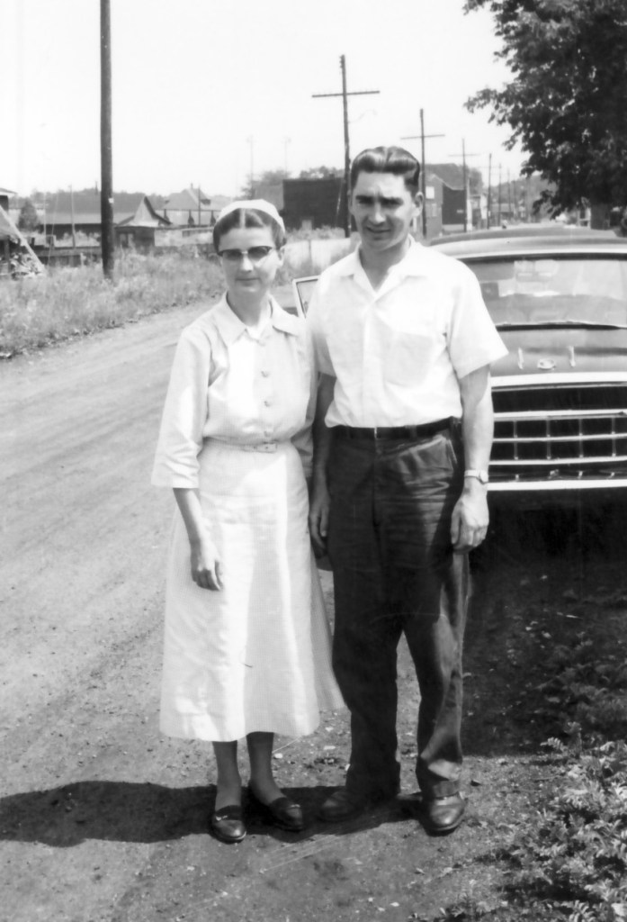 photo of Moses and Sadie Mast, 1961, from Ontario Mennonite Bible school collection of the Mennonite Archives of Ontario