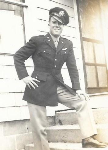 Lt. Dan Wilson's last furlough home, April 1945, Minburn