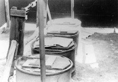 Officers' latrine--Curtis E. Swan