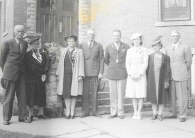 O.S. and Nellie Neal, Ruby and Kenneth Neal, Warren and Doris Neal, Leora and Clabe Wilson