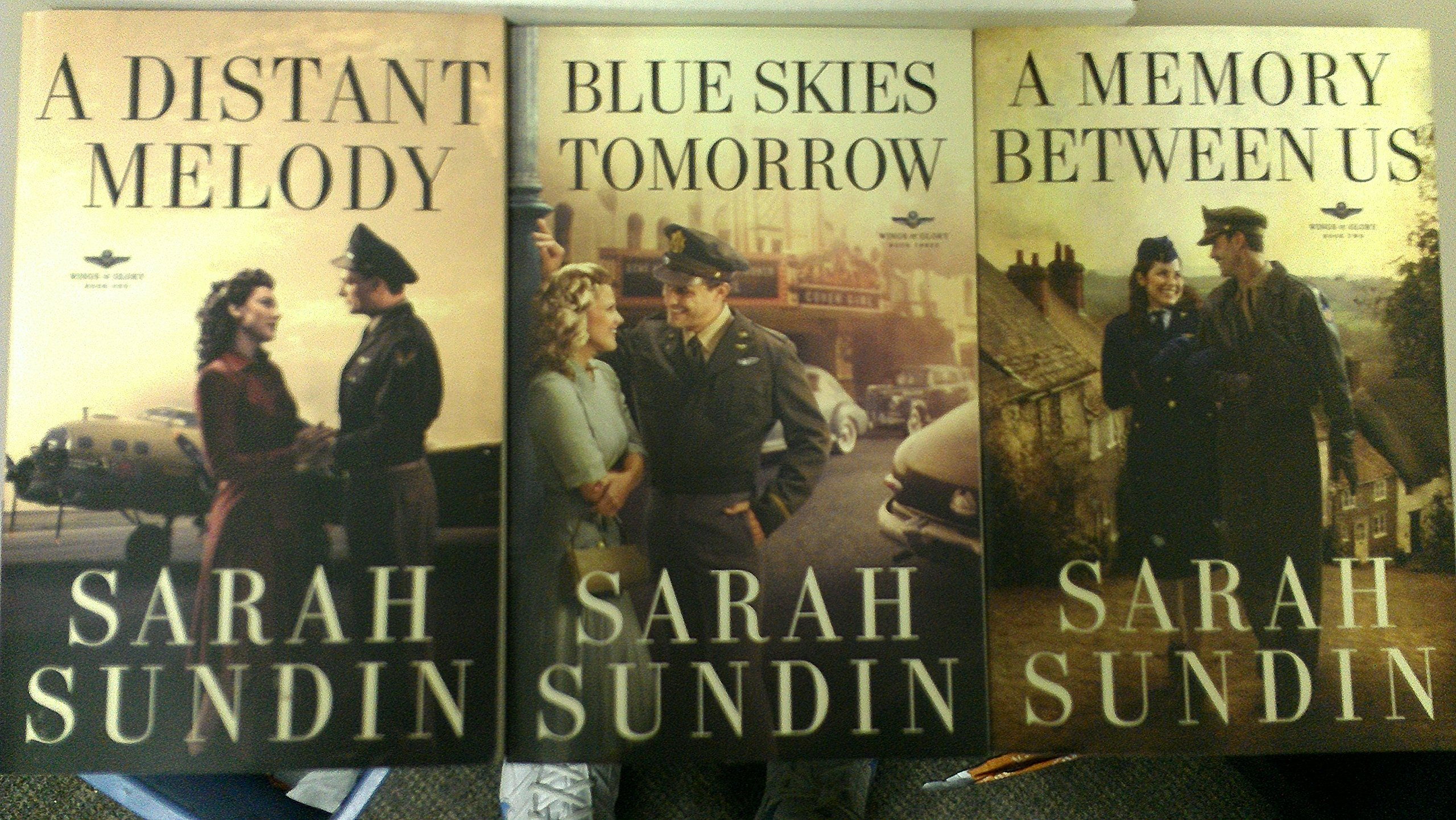 Wings of Glory WWII historical fiction series by Sarah