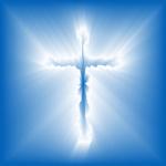 Logotipo do aplicativo de toques cristãos