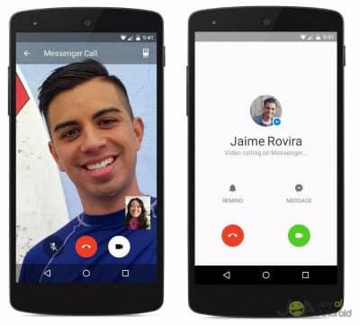 Facebook Messenger Video Call