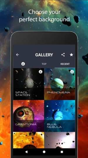 Asteroid Live Wallpaper Android Google Play Store