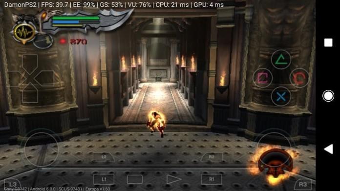 Interface DamonPS2