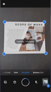 Adobe Scan - Melhor Scanner para Android
