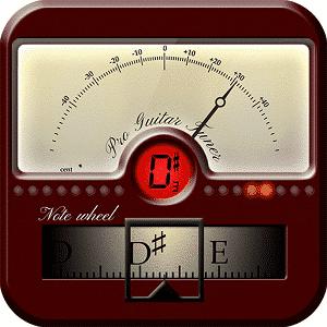 Logomarca do app Pro Guitar Tuner