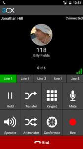 Melhores aplicativos de VoIP e aplicativos SIPs no Android - 3CX Group Call
