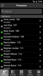 Melhores aplicativos de VoIP e aplicativos SIPs no Android - 3CX Presence