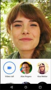 Melhores aplicativos VoIP e aplicativos SIP para Android - Google Duo - Main Interface