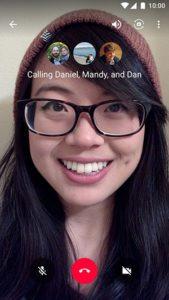 Melhores aplicativos VoIP e aplicativos SIP para Android - Google Hangouts - Videochamada