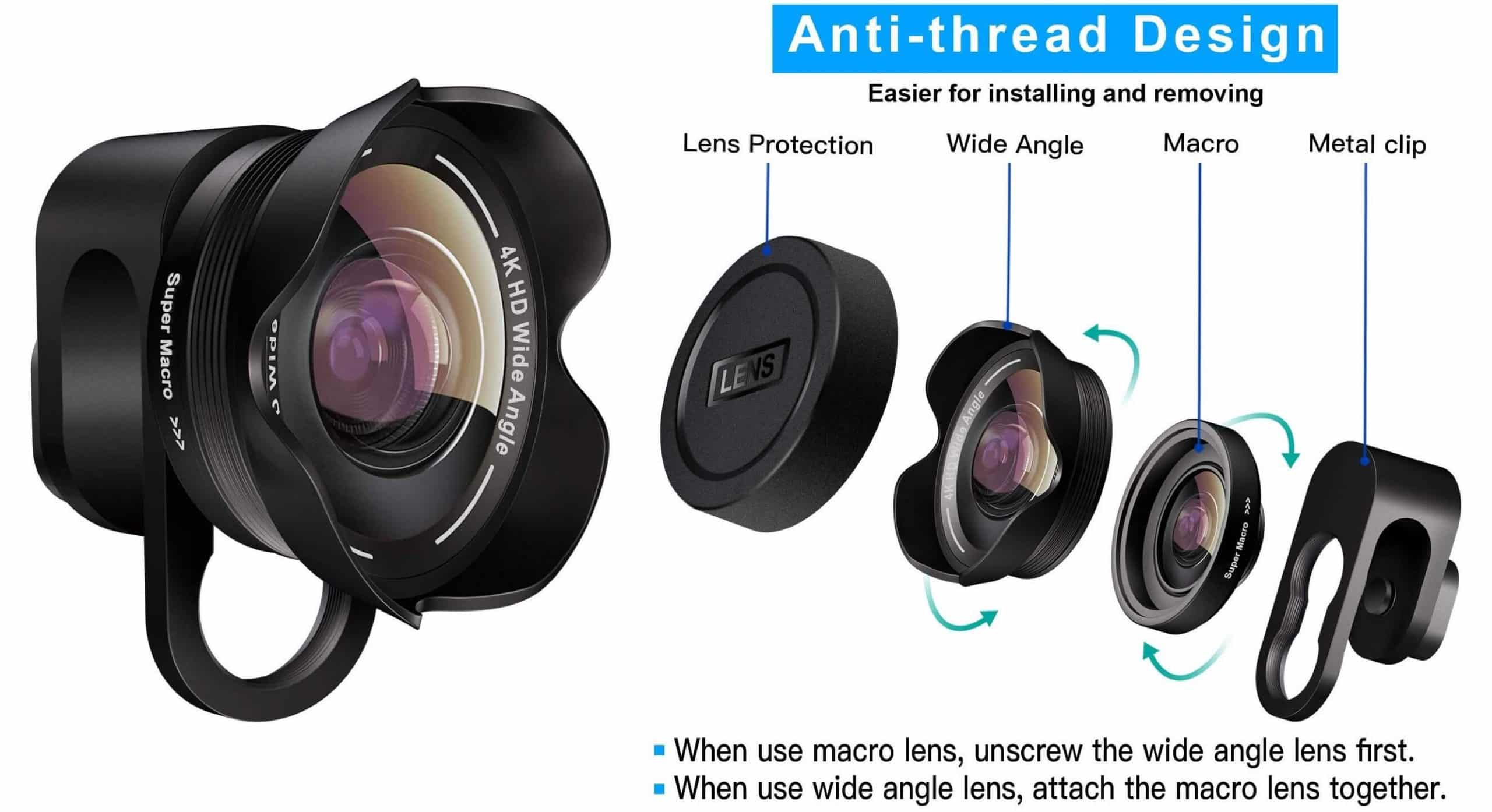 9 Best Cell Phone Camera Lens Attachments for Android   JoyofAndroid.com