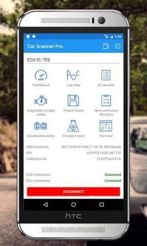 Melhores aplicativos de diagnóstico de carro para Android - Car Scanner