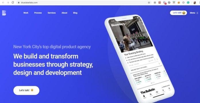 empresas de desenvolvimento de aplicativos blue label labs website