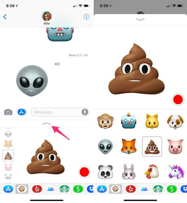 How to Use Animoji on Your iPhone [iPhone X. iPhone 8. iPhone 7] - Joy of Apple