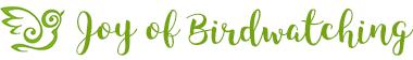 Joy of Birdwatching