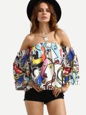 Picasso top €15.64 Pic:Shein.com