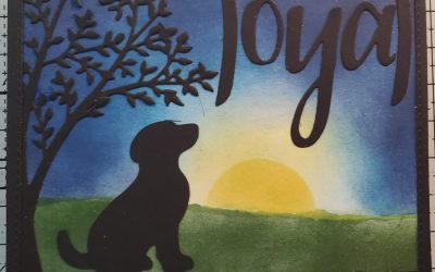 Loyal Happy Tails Dog Card – May Online Card Class