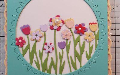 Sending Flowers Card – May Online Card Class