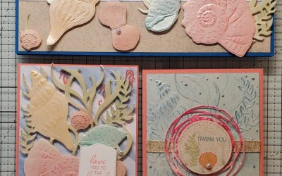 Seashells Pearlescent Tutorial Stampin Up Free Sale-A-Bration