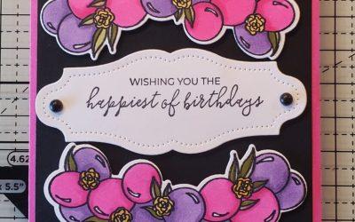 Prettiest Birthday Card Coloring Technique