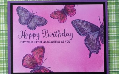 Butterfly Brilliance Birthday Card #stampinup #butterflycards