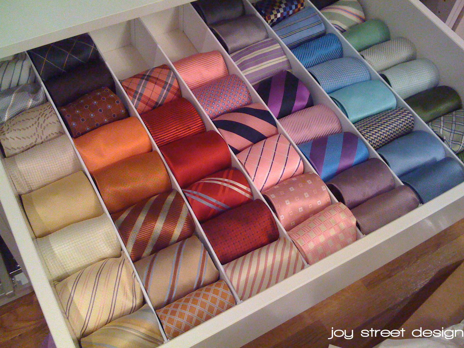 Tie Drawer Archives  Joy Street Design
