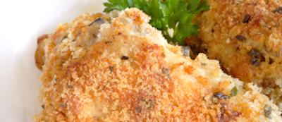 Pecan Crusted Chicken • Joy of Food • kosher lunch