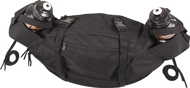 Black Endurance Saddle Bag