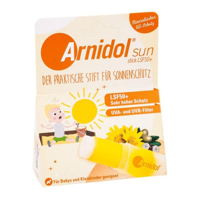 Arnidol sun Stick LSF 50 +防曬膏 15g 滾珠設計方便塗抹