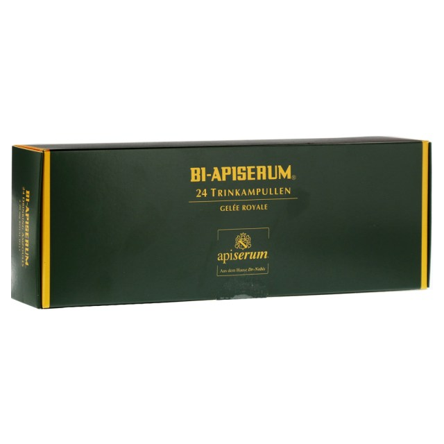 『Dr. Nobis 愛比森』德國原裝 Apiserum 蜂王液 20mg 雙倍劑量24X5ml  含12%酒精