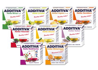 ADDITIVA 艾迪草本熱飲系列10包/盒 (最低訂購三盒可併不同口味/次 )