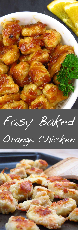 Easy Baked Orange Chicken