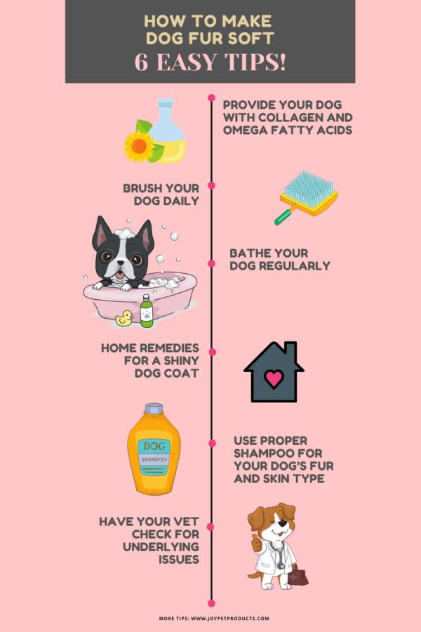 How to make dog fur soft graphic