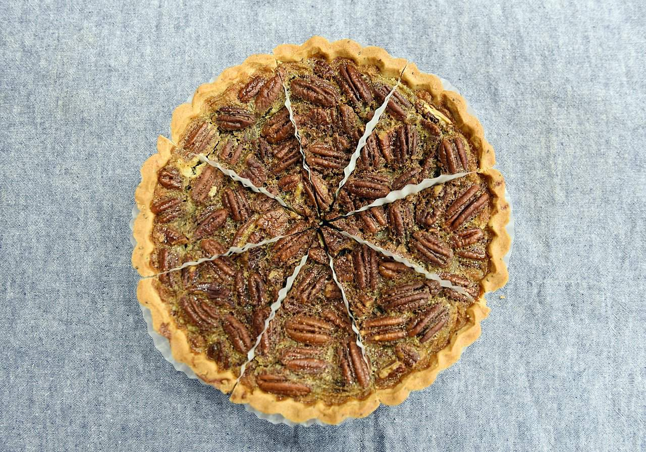 If your dog ate a whole pecan pie, it would probably be in some trouble
