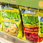 Funyuns on a supermarket shelf