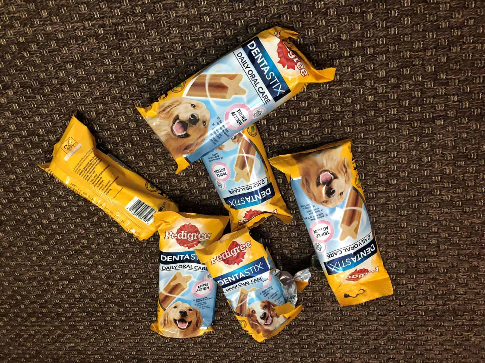 Dog ate entire bag of Dentastix!