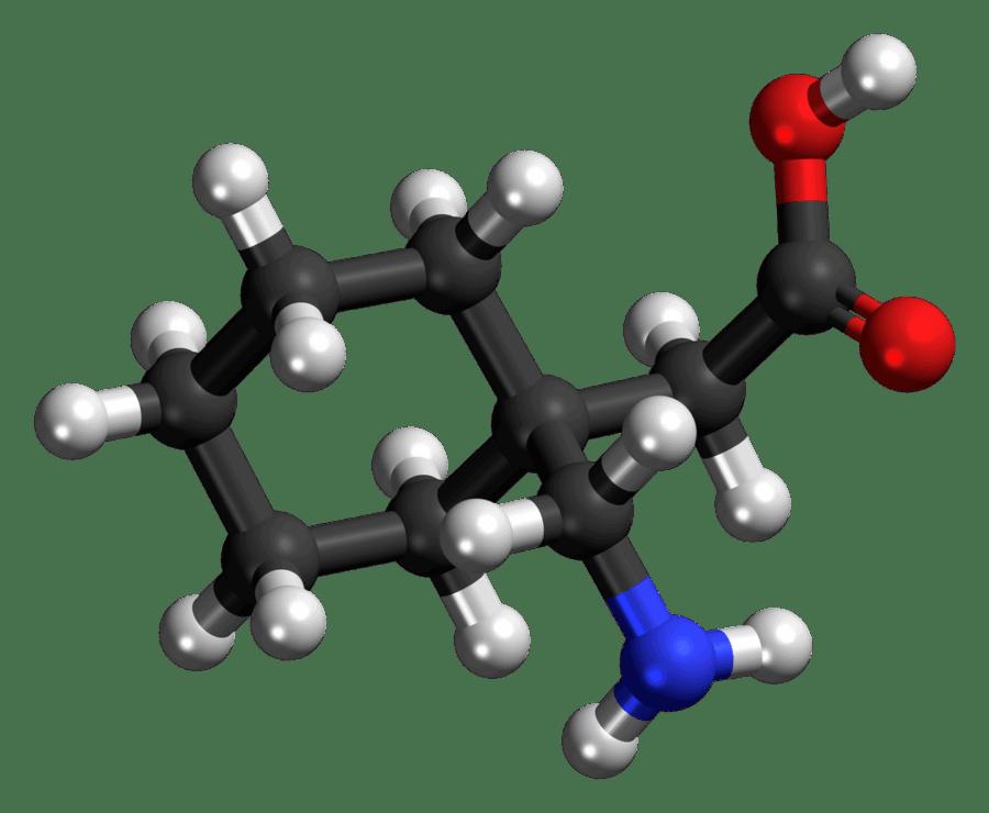 Gabapentin molecule