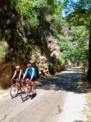 Road bike tours and rentals in Crete
