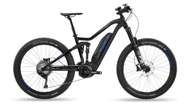 e-bike rental Crete. Electric mountain bike BH Rebel. Full suspension emtb.